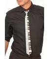 Heren piano stropdas polyester