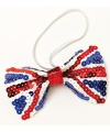Pailletten strik met Union Jack