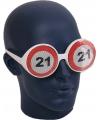 Bril 21 jaar verkeersbord