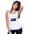 Nieuw Zeelandse vlag tanktop/ singlet voor dames